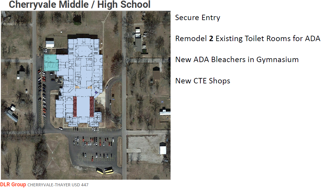 Renovations to Cherryvale Middle-High School